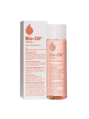 Bio Oil mod ar og  strækmærker mm.