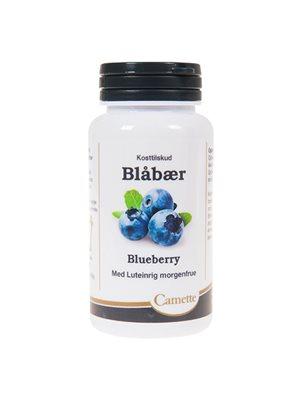 Blåbær m. luteinrig morgenfrue