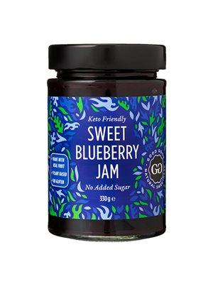 Blåbærmarmelade med stevia Sweet Jam with Stevia