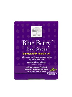 Blue Berry Eye Stress