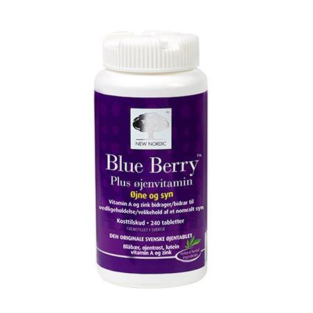 Blue Berry plus øjenvitamin