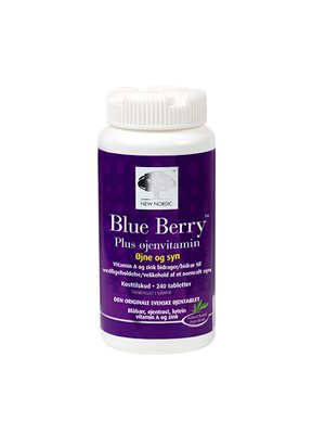 Blue Berry plus øjenvitamin