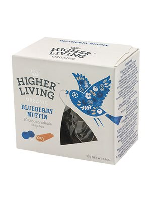 Bluebery Muffin te Ø  Higher Living