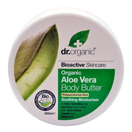 Body Butter Aloe Vera Dr.  Organic