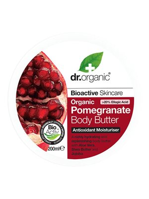 Body Butter Pomegranate Dr.  Organic