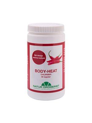 Body Heat kapsler 400 mg  Chilipeber