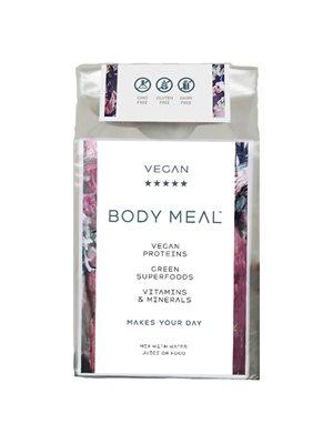 Body Meal Indholder 6 breve proteiner/greens/vitaminer/mineraler