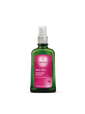 Body Oil Wild Rose Weleda