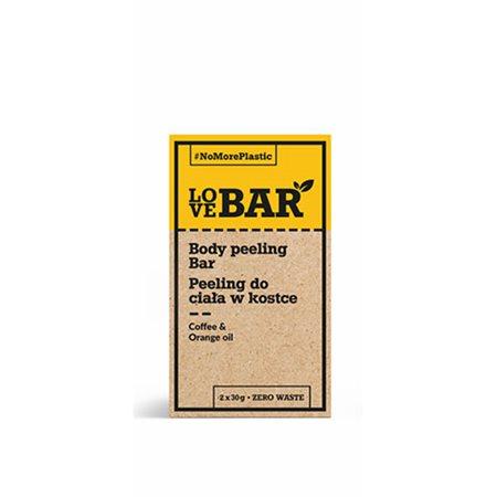 Body peeling Bar m. Kaffe & Appelsin olie