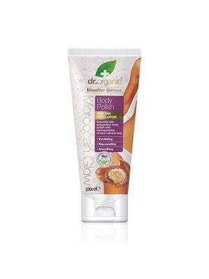 Body polish pre-tan exfoliator Dr. Organic Moroccan Glow