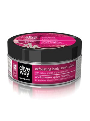Body scrub exfoliating lefki Olive Way