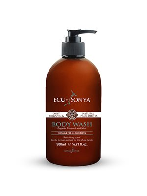 Body wash m. mint og kokos