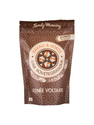 Boghvedegranola Raw Ø med  Kakao og Kokos - Renée Voltaire