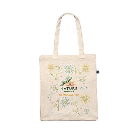 Bomuldsnet m. mønster økologisk & Fairtrade