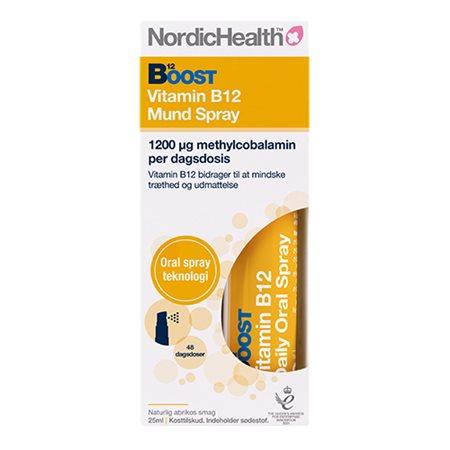 Boost Vitamin B12 oralt spray