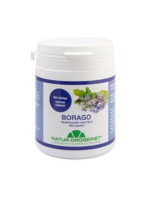 Borago hjulkroneolie Ø kapsler 500 mg