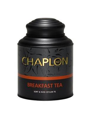 Breakfast sort/hvid te dåse Ø