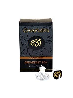 Breakfast sort/hvid te Ø