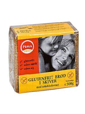 Brød i skiver glutenfri Pema