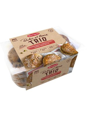 Brød trio glutenfri Semper