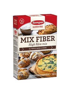 Brødmix med fiber glutenfri  Semper