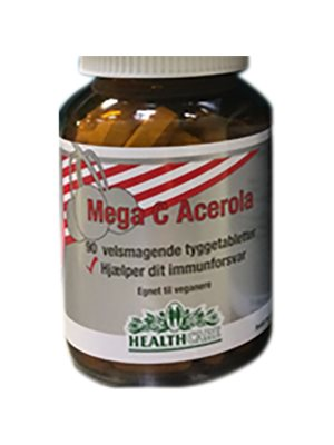 C-vitamin m. acerola 300 mg HealthCare