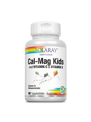 Calcium Kids tygge m.10 mcg  D frugtsmag