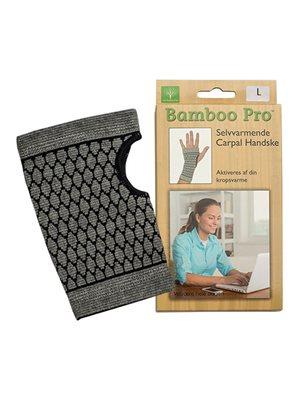 Carpal handske, Str. L selvvarmende Bamboo Pro