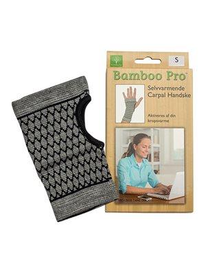 Carpal handske, Str. S selvvarmende Bamboo Pro