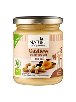 Cashew smørbar Naturli Ø
