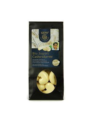 Cashewnødder hvid chokolade Ø