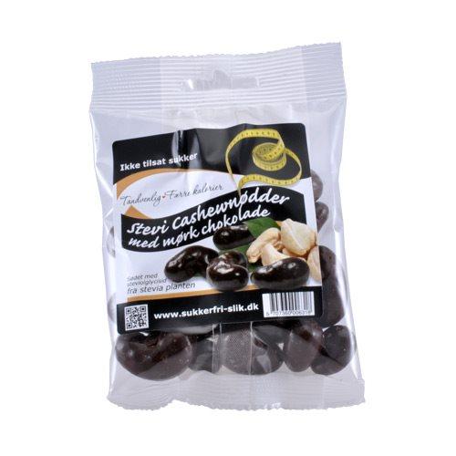 Diverse Cashewnødder M. Mørk Stevia Chokolade