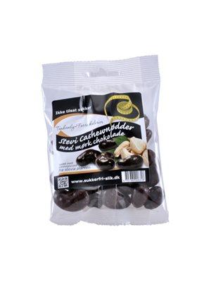 Cashewnødder m. mørk  stevia chokolade
