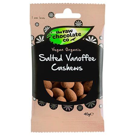 Cashewnødder m. rå chokolade Ø Salted Vanoffe Snack Pack