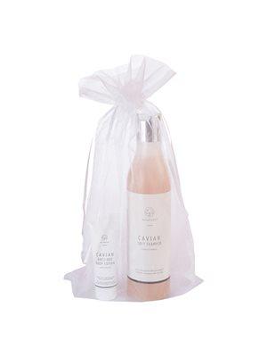 Caviaer Shampoo Soft inkl. prøve på Caviar Body Lotion, pakket i pose