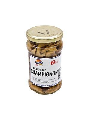 Champignon i glas Ø
