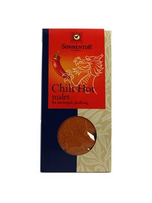 Chili Hot malet Ø ekstra stæk  Sonnentor