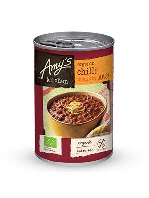 Chili medium suppe Ø m bønner, tofu