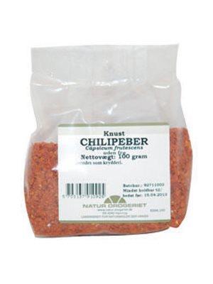 Chilipeber knust