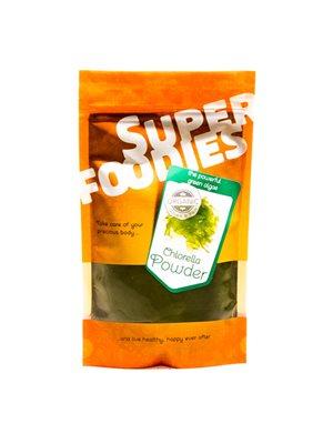 Chlorella pulver