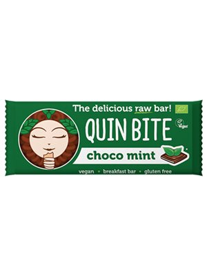 Choco Mint bar - Quin Bite
