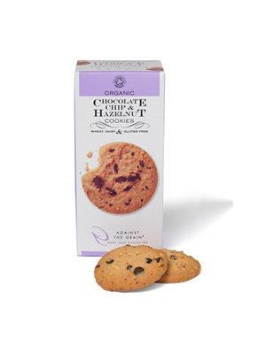 Chocolate chip & hasselnød cookies Ø