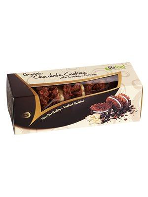 Chocolate Cookies m. Cashew Creme RAW Ø