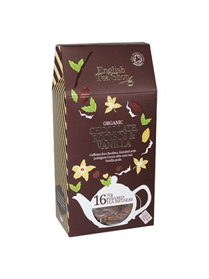 Chocolate, rooibos,vanilla tea Ø