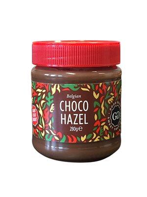 Choko hasselnøddecreme stevia