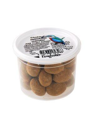 Choko saltlakrids mandler mørk m. stevia