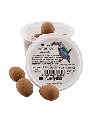 Choko saltlakrids mandler