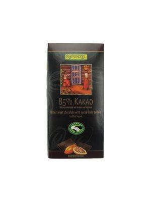 Chokolade 85% kakao Ø Rapunzel