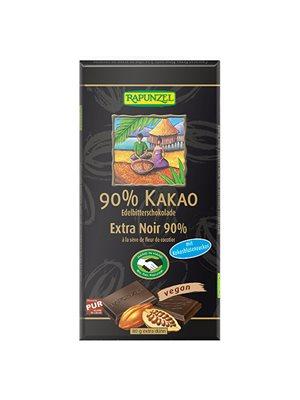 Chokolade 90% kakao Ø