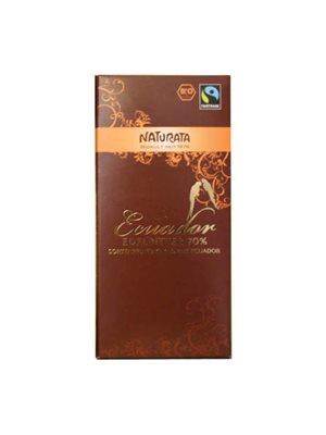 Chokolade bitter 70% Ø  Naturata Fairtrade